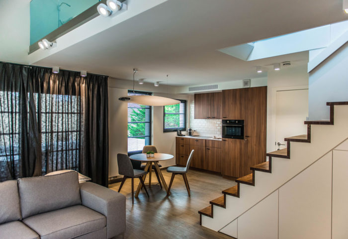 Interieurarchitectuur Interieurinrichting Totaalinrichting Hotel Apart De Haan 15