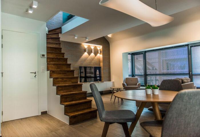 Interieurarchitectuur Interieurinrichting Totaalinrichting Hotel Apart De Haan 18