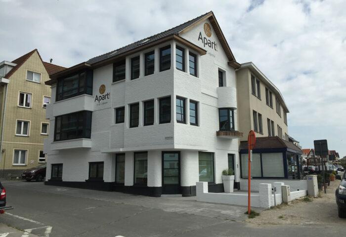 Interieurarchitectuur Interieurinrichting Totaalinrichting Hotel Apart De Haan 2