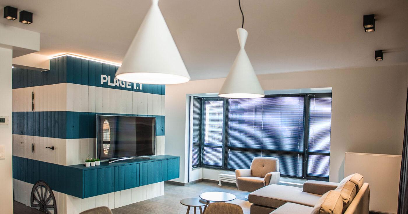 Interieurarchitectuur Interieurinrichting Totaalinrichting Hotel Apart De Haan 30