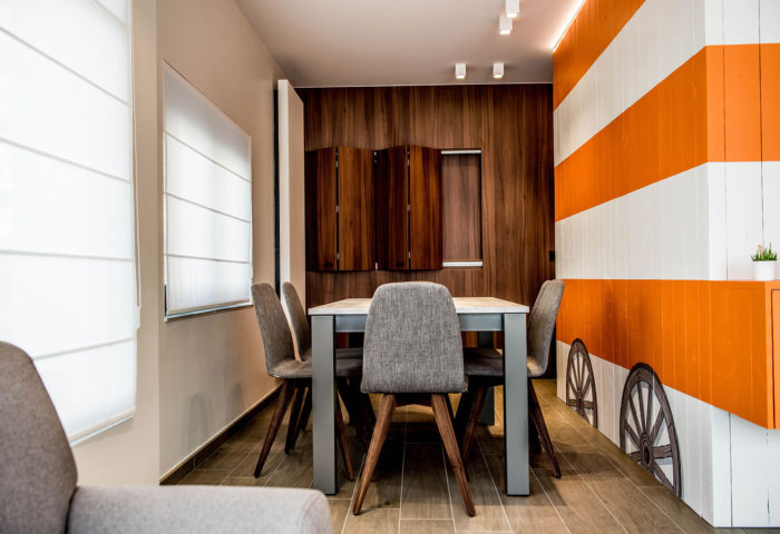 Interieurarchitectuur Interieurinrichting Totaalinrichting Hotel Apart De Haan 4