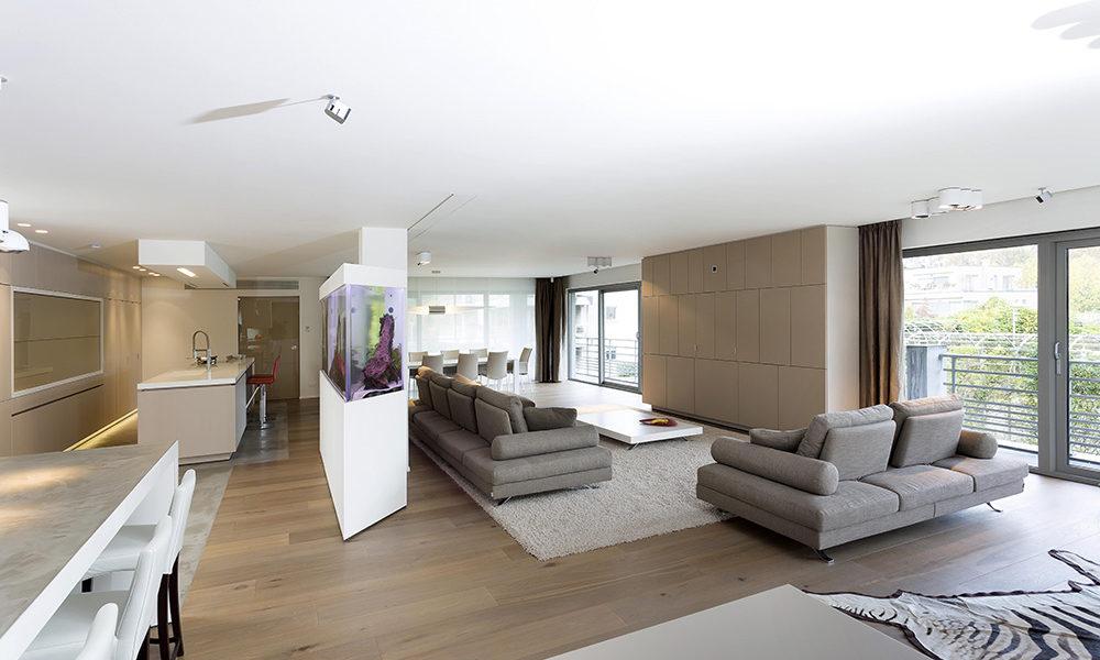 Interieurarchitectuur Luxe huis Residentieel Bokrijk park 1