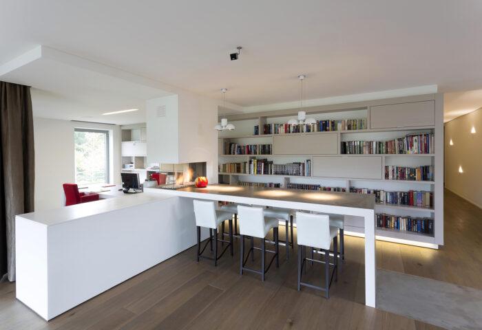 Interieurarchitectuur Luxe huis Residentieel Bokrijk park 4