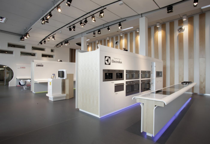 Interieurarchitectuur Totaalontwerp Retail Design Electrolux 36