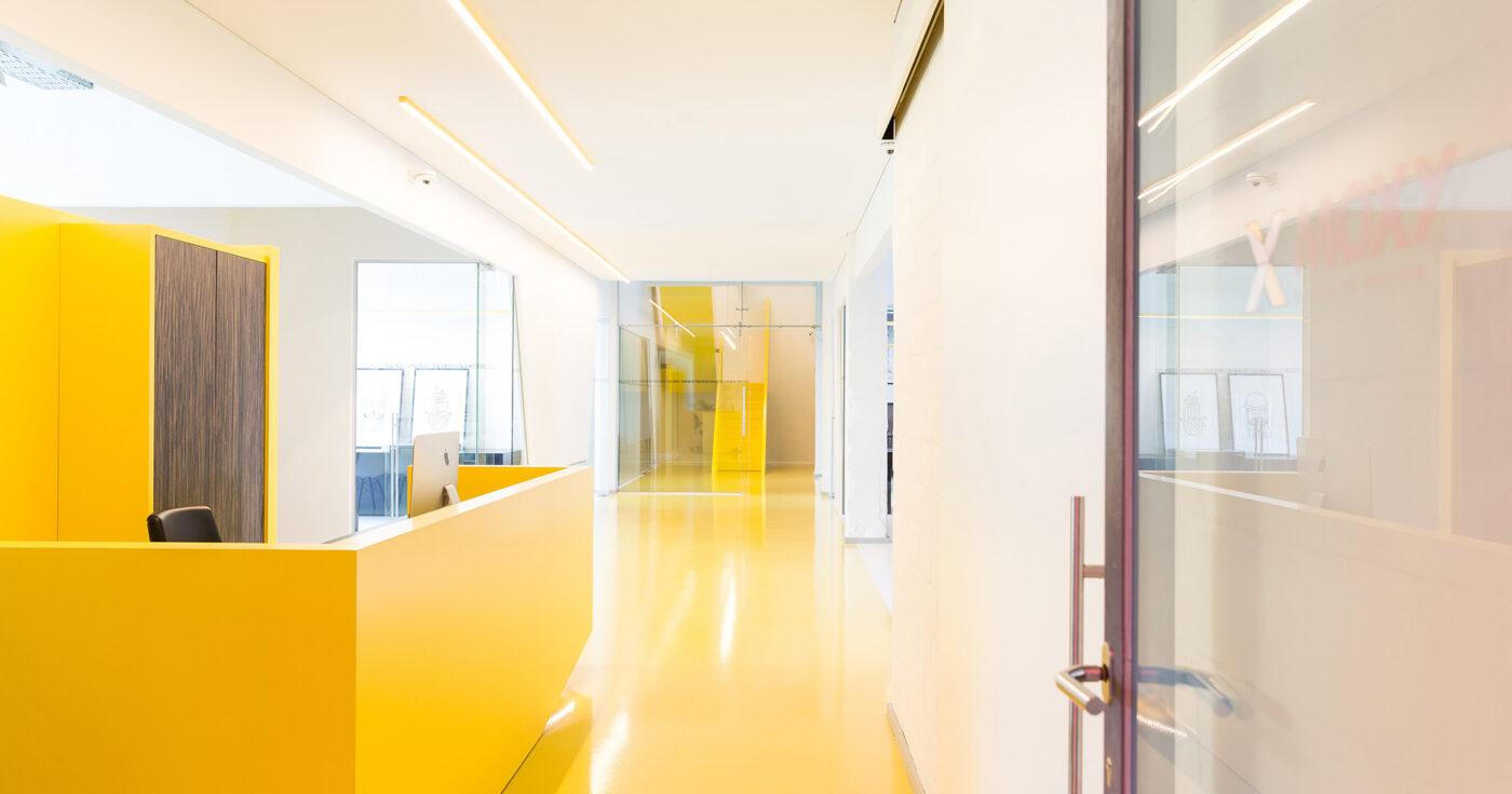 Interieurarchitectuur Kantoorinrichting Totaalinrichting Retail Design Moxy 5