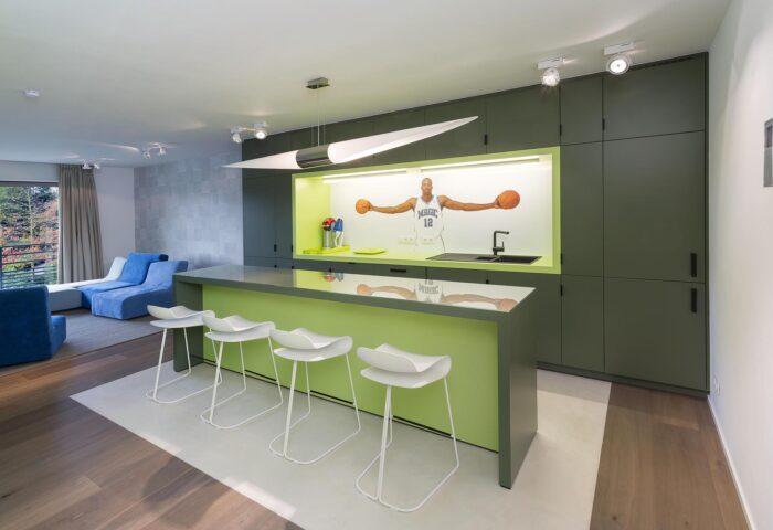 Interieurarchitectuur Luxe appartement Residentieel Bokrijk park 1