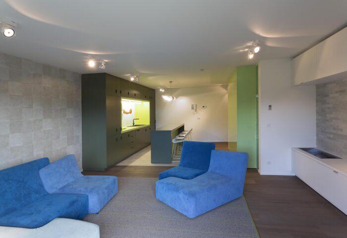Interieurarchitectuur Luxe appartement Residentieel Bokrijk park 2
