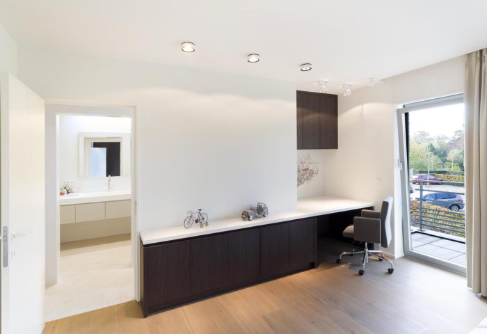 Interieurarchitectuur Luxe appartement Residentieel Bokrijk park 7