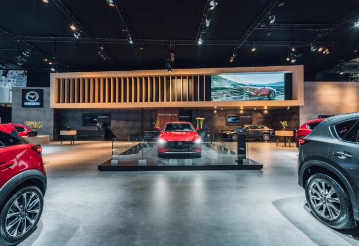 Interieur-standenbouw-Autosalon-2019-Brussel-Mazda-1