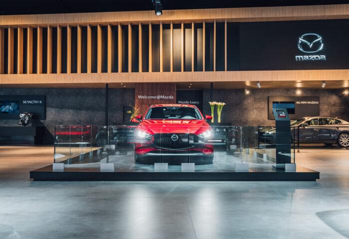 Interieur-standenbouw-Autosalon-2019-Brussel-Mazda-3